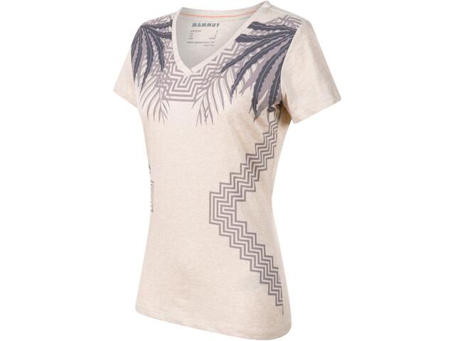 Mammut Zephira T-Shirt Damen moonbeam melange